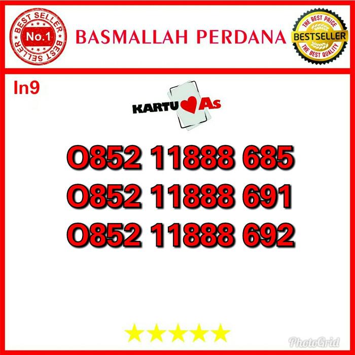 Jual Nomor Cantik Telkomsel As Seri Triple 888 0852 11888 685 In01 - Dki Jakarta - Basmallah Cell 2 | Tokopedia