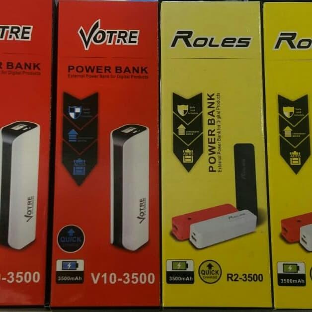 Power Bank Votre V10-3500 ORIGINAL 100% GARANSI RESMI