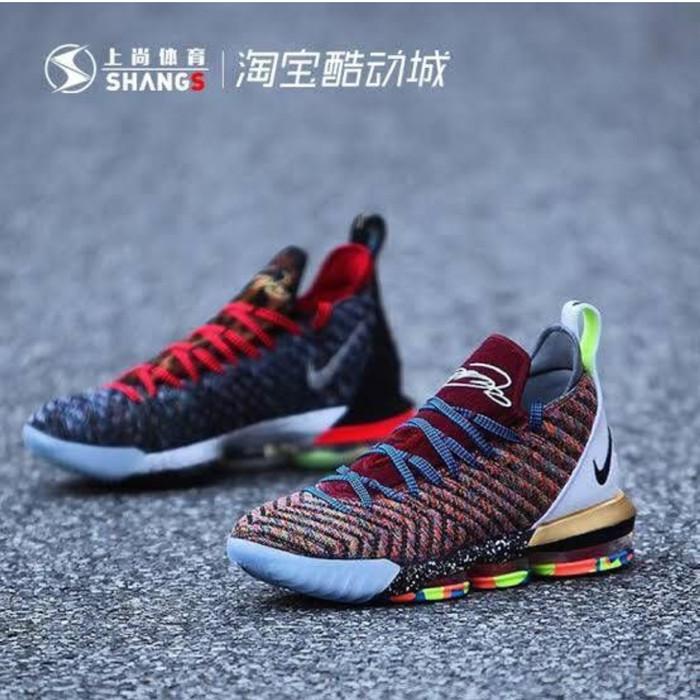 Jual Sepatu Basket Nike Lebron 16 Multi