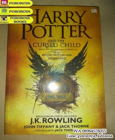 Buku HARRY POTTER AND THE CURSED CHILD Bhs Indonesia