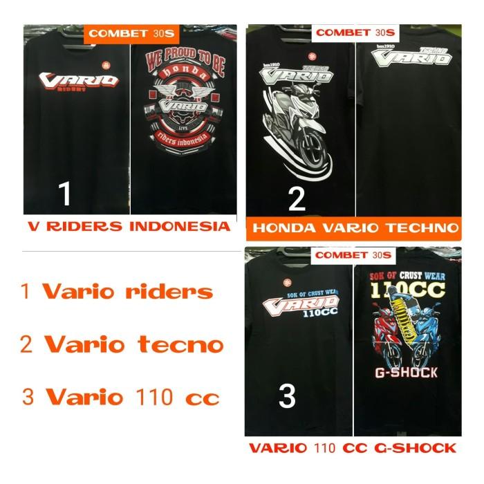 harga Kaos racing motor honda vario Tokopedia.com