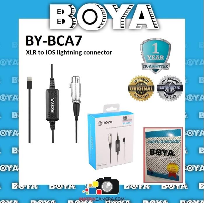 Foto Produk BOYA BY-BCA7 XLR to IOS Lightning Connector Adapter dari MatrixCamera