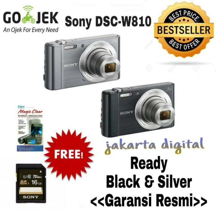Sony dsc-w810 kamera pocket promo garansi resmi