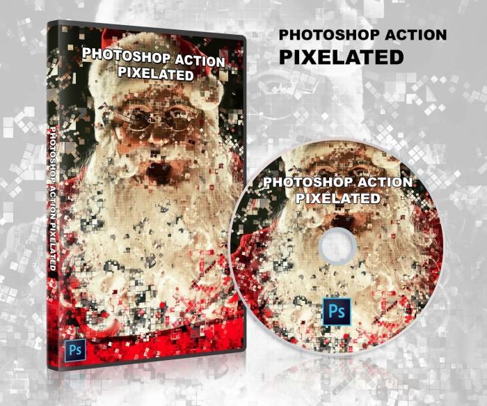 Jual PHOTOSHOP ACTION - Pixelated cover - Kab  Bantul - henhentoserba |  Tokopedia