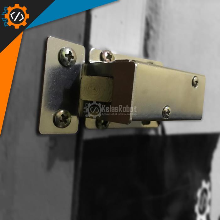 Foto Produk [BESAR +SLOT] Solenoid Door Lock Selenoid Doorlock Kunci Pintu Arduino dari Kelas Robot