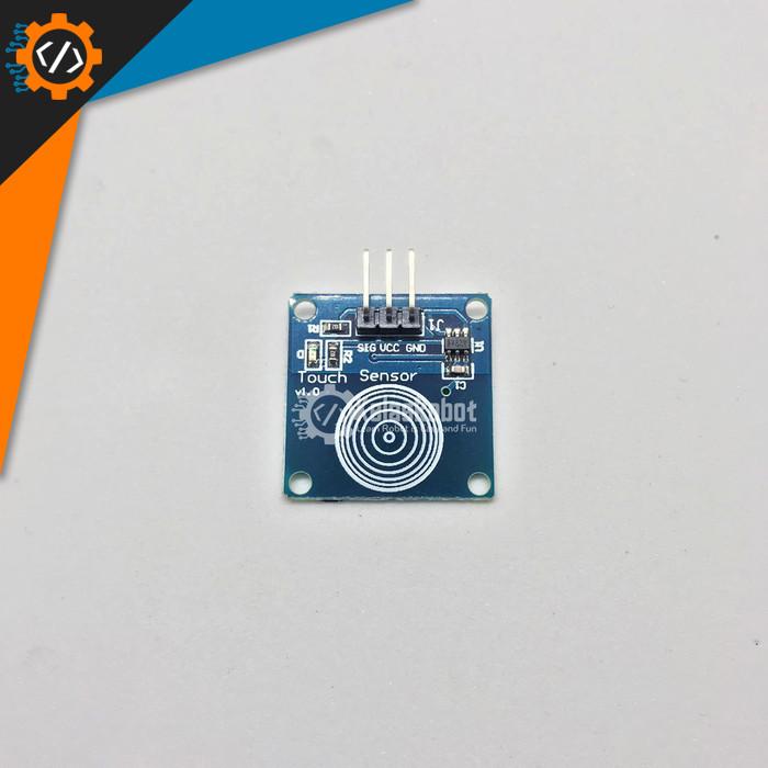 Foto Produk Sensor Sentuh Touch Saklar TTP223B for Arduino dari Kelas Robot