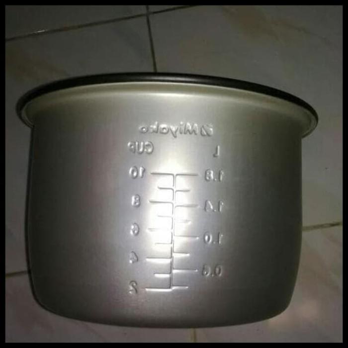 SPECIAL MIYAKO PANCI TEFLON MAGIC COM / RICE COOKER 1,8 L (tinggi 13cm