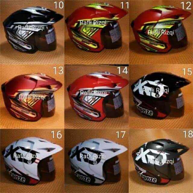 Helm Motor SNI Dewasa All Size M - Cantumkan NO, Takira