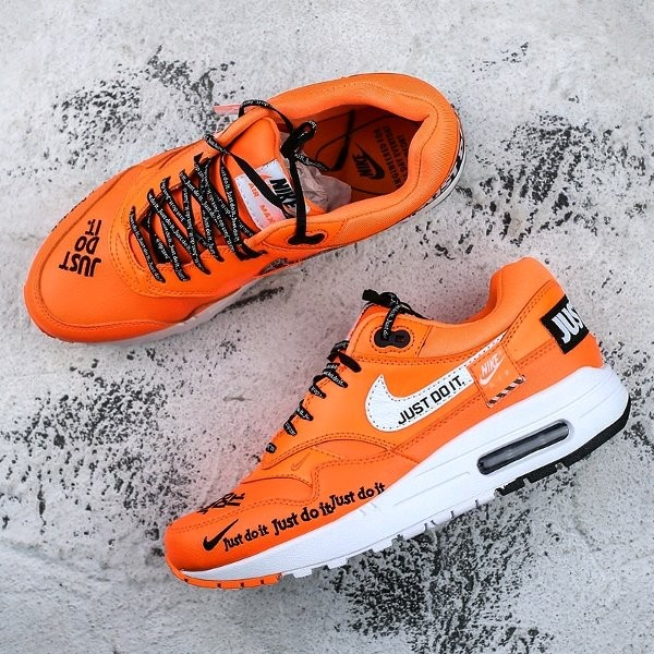 000b212953a Jual Nike Air Max One Just Do It Orange White - Dionette