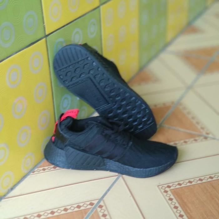 more photos 8010e d57db Jual sepatu adidas NMD R2 Primeknit Triple Black Hitam - DKI Jakarta -  tokoirgie | Tokopedia