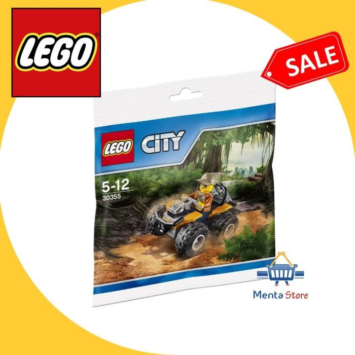 harga Lego 30355 - polybag - jungle atv hutan motor for display and play Tokopedia.com
