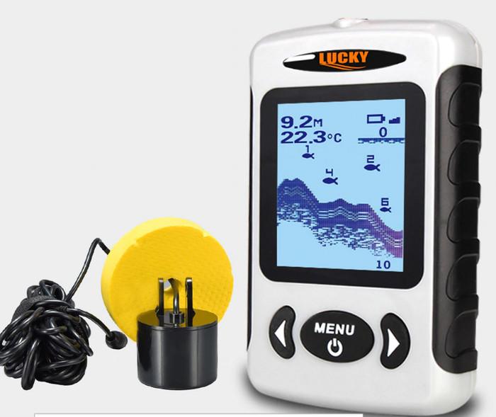 Foto Produk FF718 bisa deteksi ikan besar kecil Fish Finder Alat sonar fishfinder dari TOKO NK