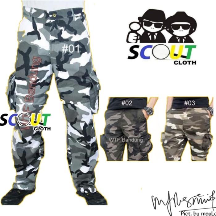 harga Celana cargo panjang cargo pants premium pdl celana loreng kargo army Tokopedia.com
