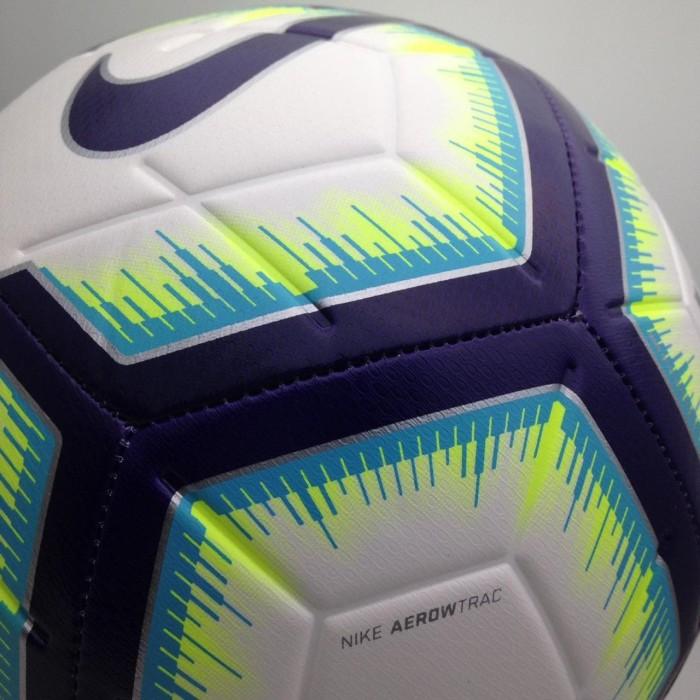 Bola Soccer Nike Strike FA18 Ball White Blue SC3311-101 Original BNWT 0e569ba42d43d