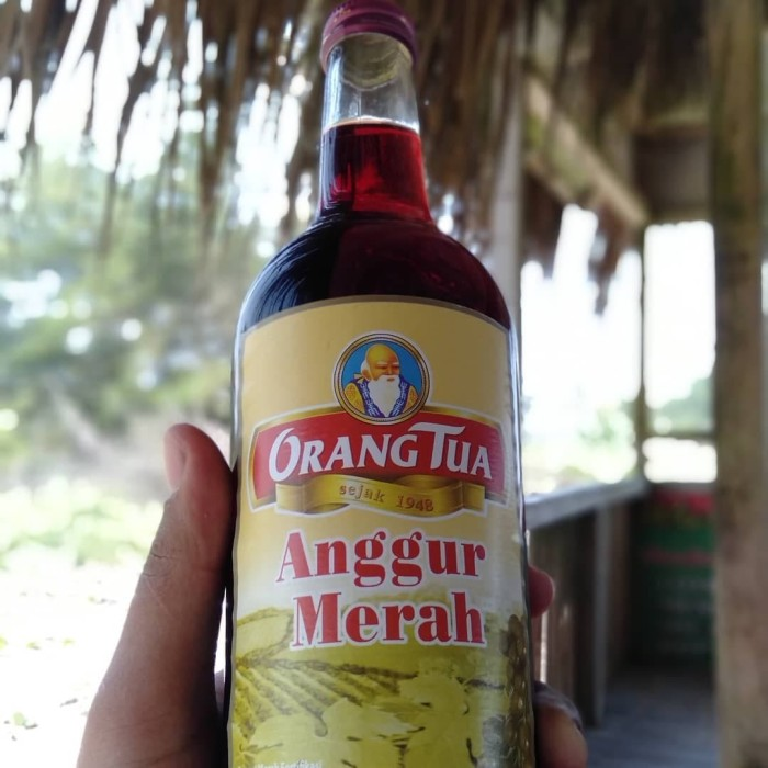 harga Anggur Merah Cap Orang Tua Original Tokopedia.com