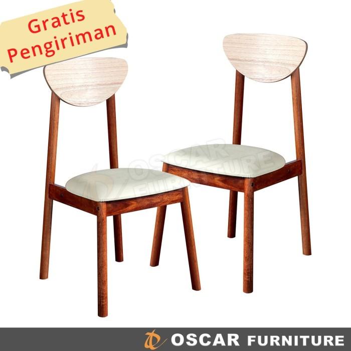 harga Oscar furniture - kursi makan carpi 2 buah Tokopedia.com