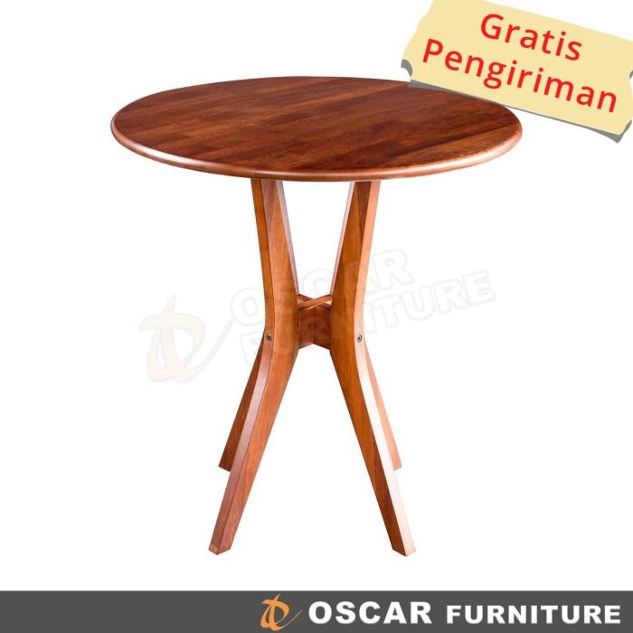 harga Oscar furniture - meja makan bulat fogia Tokopedia.com