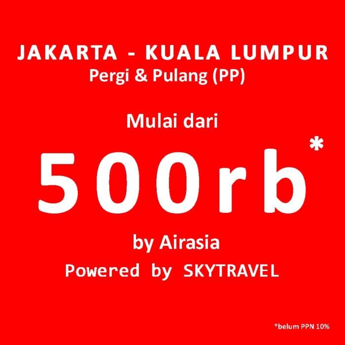 jual tiket pesawat promo jakarta ke malaysia kuala lumpur vans rh tokopedia com