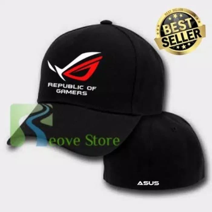 Jual Topi Baseball Build Up Asus ROG Trucker Snapback RS - A01 ... 755aa847732