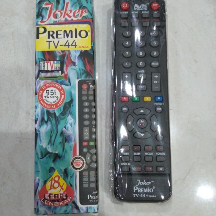 Jual Remote Tv Joker Premio Universal Tv 44 Kota Surabaya Anugerah88 Olshop Tokopedia