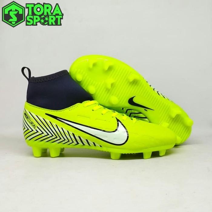Jual Sepatu Bola Anak Nike Mercurial Neymar Boot Hijau Stabilo Grade ... b75bbd681d