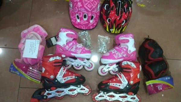 Jual Sepatu Roda Anak Inline Skate Bisa BAJAJ komplite With DEKKER ... a494d0250a