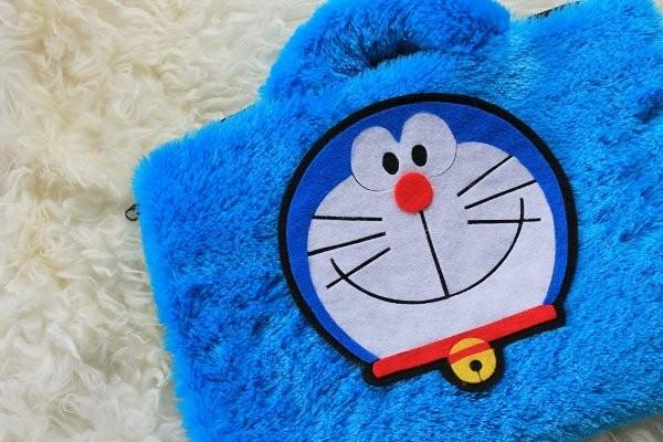 Jual JUAL TAS Doraemon biru lebat 13-14inch softcase tas case laptop ... 596f00e7fe