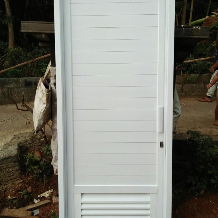 Jual pintu kamar mandi panel ,kunci handle biasa - Kota ...