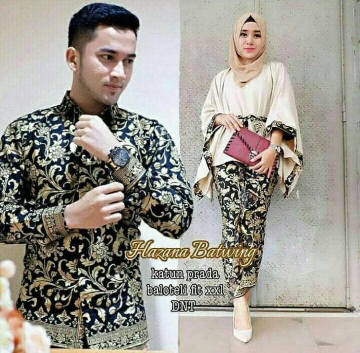 Jual Baju Batik Couple Keluarga Batik Couple Pernikahan Pesta Terbaru Zd12 Kota Pekalongan Batik Mekar Wangi Tokopedia