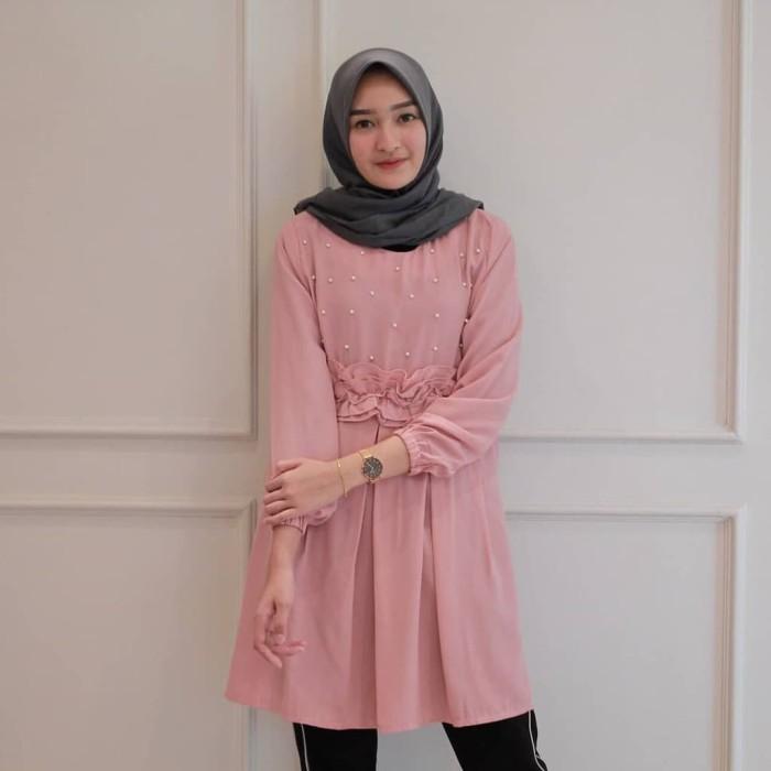 Jual Baju Atasan Wanita Muslim Alma Top Busana Muslim Modis Kota Bandung M2m Allshop Tokopedia
