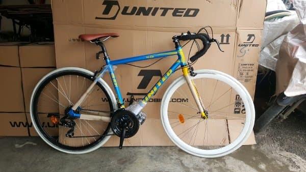 Jual Sepeda Fixie Hybird 700c United Slick 71 Frame Alloy Modif Stang Balap Kab Tangerang Revaya Tokopedia