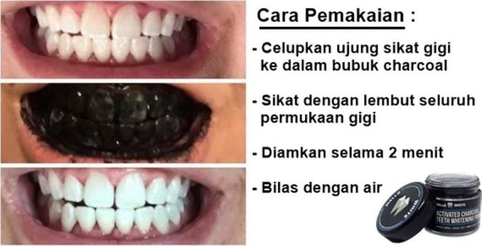Jual New Charcoal Whitening Teeth Arang Pemutih Gigi Alami Mello