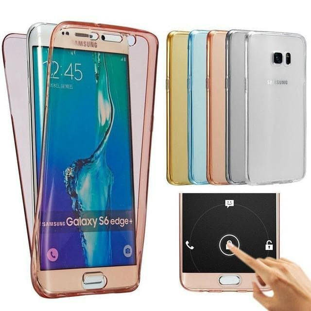 Soft Case full body 360 Samsung S6 Edge S7 edge S8 S8 Plus S9 S9 plus