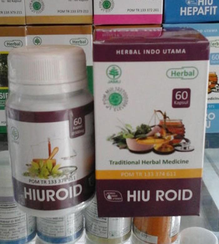 Hiu Roid - Obat Herbal Ambeien/Wasir (Izin POM)/ Hiuroid GRATIS ONGKIR