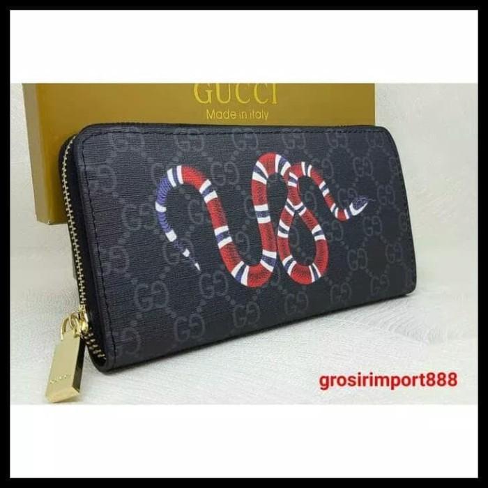 Jual HOT SALE Dompet Zipper Gucci super King Snake Print GG terjamin ... b0d027353e
