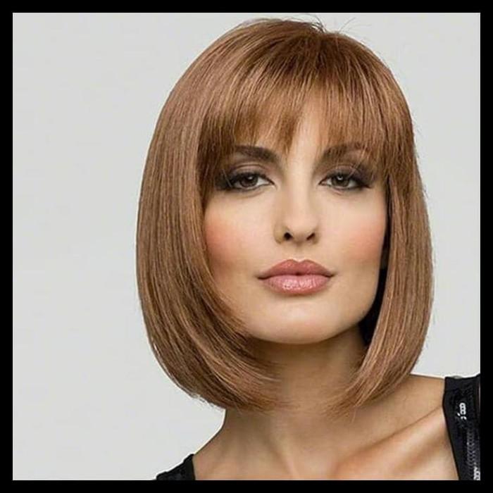 Jual Hot Sale Wig Rambut Wanita Model Pendek Lurus Terjamin Jakarta Barat Ahmadsyahp87 Tokopedia