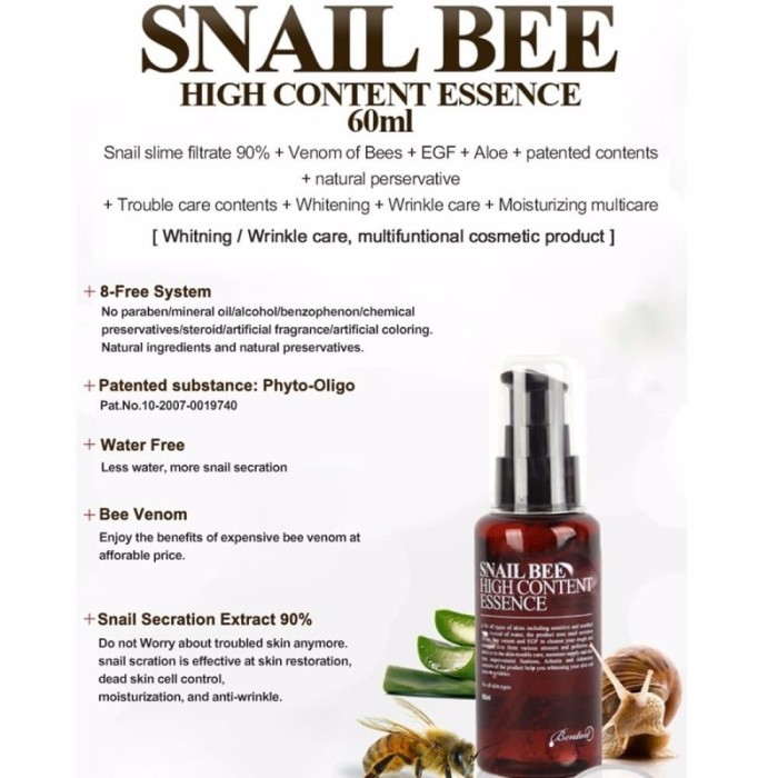 Image result for snail bee high content essence