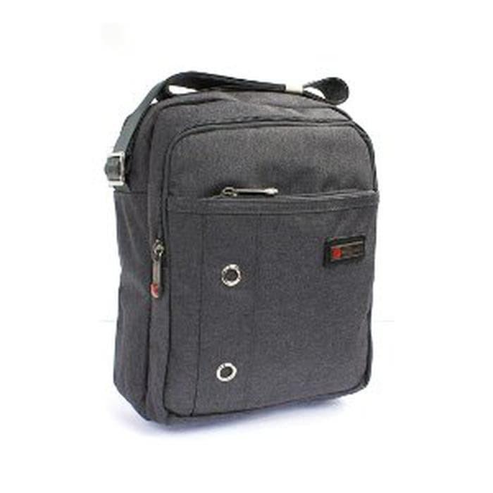 Jual Polo Classic Sling Bag 6203-21 - Grey Berkualitas - DKI Jakarta ... 05049df7dc46a