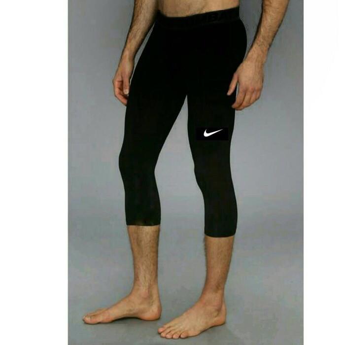 Jual Celana Baselayer 3 4 Legging Leging Training Pria Futsal Gym Olahraga Kota Kediri Nadhiroh Sport Tokopedia