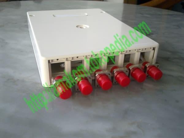 harga Roset optik ftth / indoor optical outlet 6 core fc lengkap Tokopedia.com