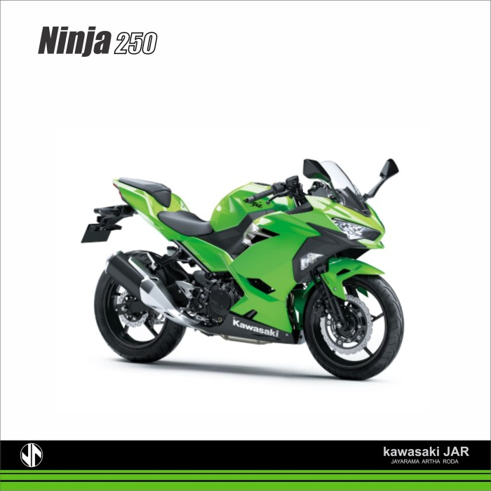 harga Kawasaki ninja 250 - hijau muda Tokopedia.com