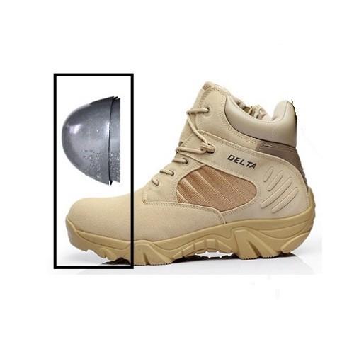 SAFETY Sepatu Delta Safety 6 Inci Dengan Pelindung Besi