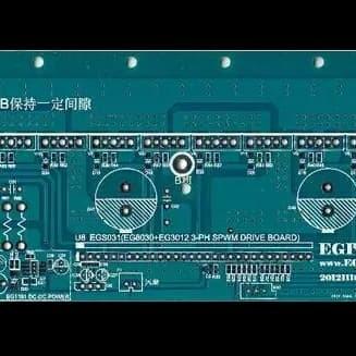 PCB board EGP3000W three-phase pure sine wave inverter power base plate UPS EPS