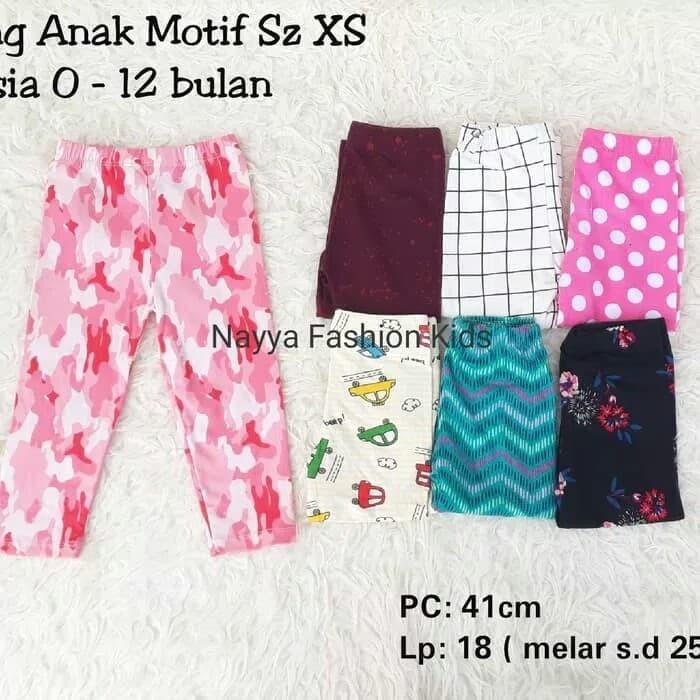 Jual Legging Motif Anak Bayi Perempuan 0 12 Bulan Celana Legging Anak Kab Bogor Amoy Galery Tokopedia