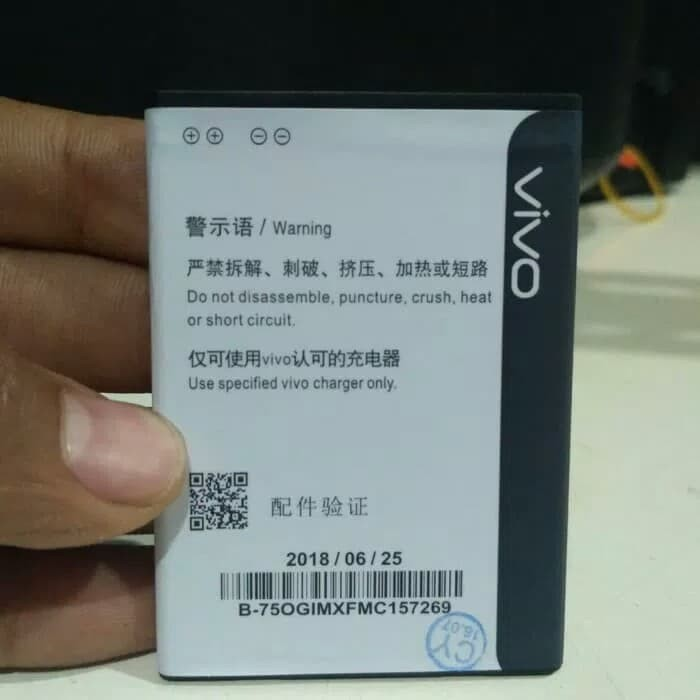 Jual baterai battery batre vivo y15 y21 original - aktif cell | Tokopedia