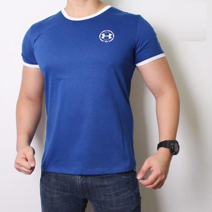 harga Gtk-055br kaos casual fit lengan pendek pria santai Tokopedia.com