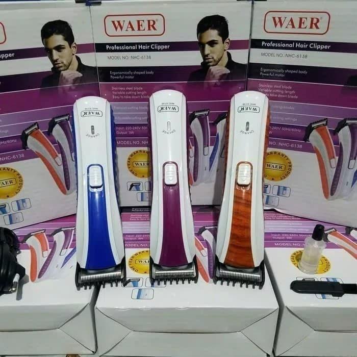 Nova Alat Cukur Kumis Rambut Jenggot Portabel Hair Trimmer Nhc 6138 ... b1213c2b16