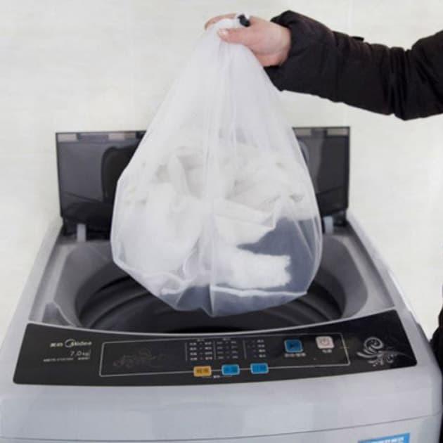 Foto Produk kantung baju mesin cuci laundry bag divider hsi013 dari Oila