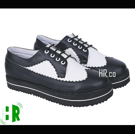 harga Sepatu platform wanita boot casual slip on sneakers fashion gaya cewek Tokopedia.com