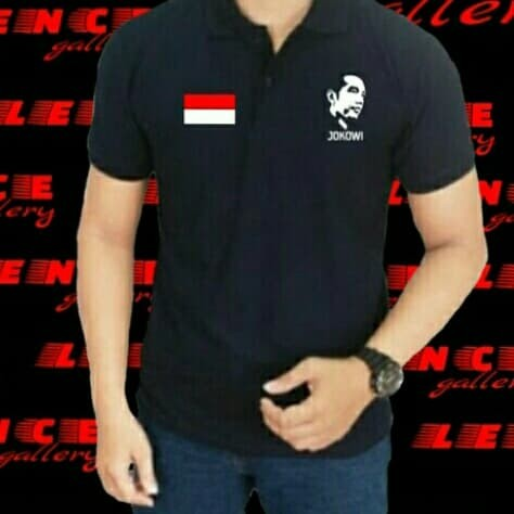 Big size kaos distro polo shirt xxxl jokowi tshirt trendy